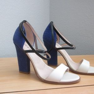GUESS SILENO COLOR-BLOCKED SANDALS - Sz 8